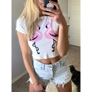Perfect summer cropped tee